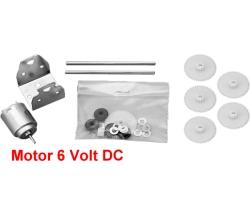 Bastel-Motor Nr. 0790 - 2-6V DC mit Getriebebausatz - 1 Umdrehung-Min. bei 3V - ideal für Drehscheiben | günstig bestellen bei Modelleisenbahn Center  MCS Vertriebs GmbH