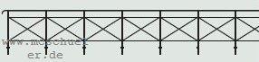 1:120 Geländer für Brücken und Begrenzung des Bahngeländes, 60cm lang - Weinert  | günstig bestellen bei Modelleisenbahn Center  MCS Vertriebs GmbH