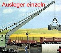 1:87 Blechausleger einzeln - Weinert 33901 zum Nachrüsten bestehender Kranen | günstig bestellen bei Modelleisenbahn Center  MCS Vertriebs GmbH