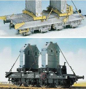 1:87 Gegengewichtswagen für 75-t-Kran - Weinert 4180 Komplettbausatz mit NEM-Radsätzen | günstig bestellen bei Modelleisenbahn Center  MCS Vertriebs GmbH