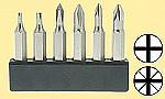 Set Mini-Bits mit 6 verschiedenen Kreuzschlitzgrössen   - für viele Arbeiten im Hobbybereich  | günstig bestellen bei Modelleisenbahn Center  MCS Vertriebs GmbH