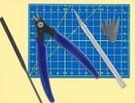 Werkzeugset für den Plastikmodellbau   - ein ideales Geschenk für alle Bastler!