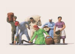 1:87 Erntearbeiter - Merten
