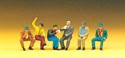 1:87 Sitzende Personen, männl. - Preiser 10097 Art.Nr.663-10097