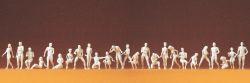 1:87 Adam + Eva, unbemalt, kombinierbare Posen, 26 St.- Preiser 16400 Art.Nr.663-16400