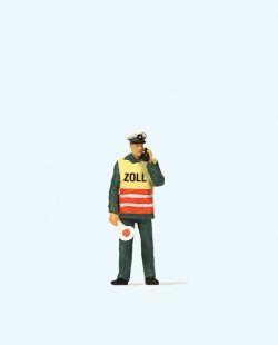 1:87 Zollbeamter mit Warnweste - Preiser 28100 Art.Nr.663-28100