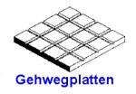 Gehwegplatten 1,00 x 150 x 300mm, mit Raster 3,20mm - 1 Stück - Evergreen KS
