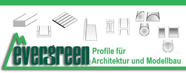 Evergreen Profile für Architektur und Modellbau slide